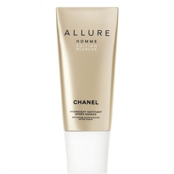 Chanel Allure Homme Edition Blanche Anti Shine moisturizing After Shave 100ml